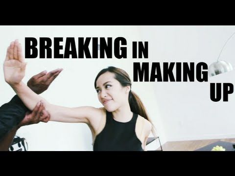 """How To Fix Broken Makeup""......this is the funniest shit ever...and i like the makeup tutorial, lol!"