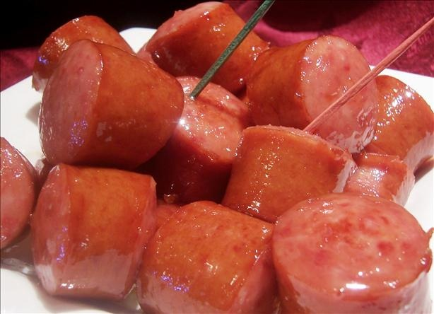 Glazed Kielbasa Bites Recipe