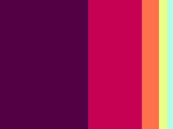 Finalized color palette by UPtimist.
