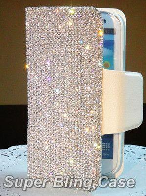 LUXURY ITEMS - Swarovski bling I-phone case.  Glamorous life . .