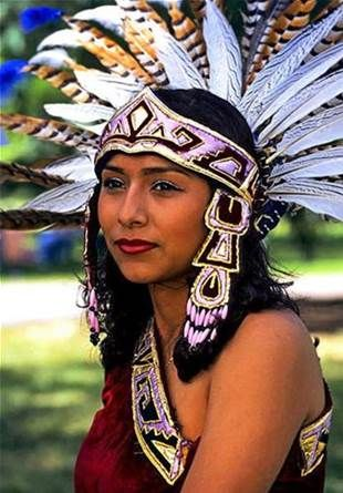 a look at the native american people the aztecs To trace the origins of the aztec people all the way back it is the oldest written account of a native north american people the red record (wallum olam.