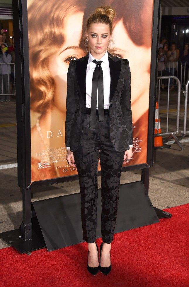 10 Badass Women Who Rocked the Red Carpet in Suits via Brit + Co