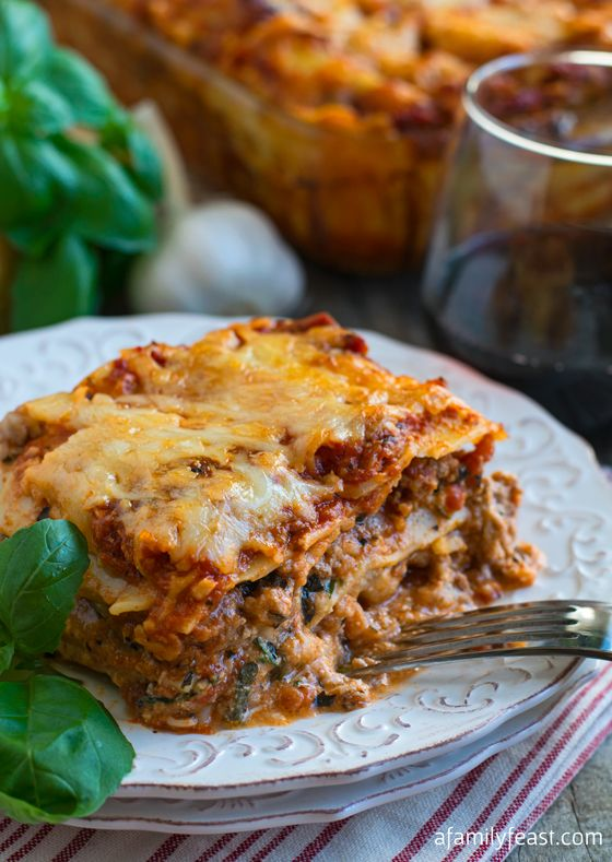 Lasagna - a robustly savoury meat sauce and just a hint of cheese, all deferring to the real star of the show, the pasta.
