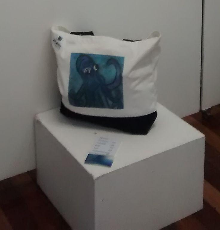 Hello Ollie Tote Bag Design by Deb Chilton