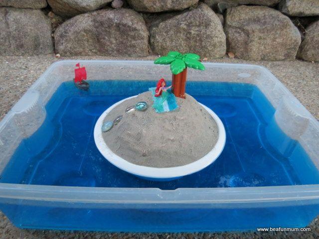 small world play - desert island