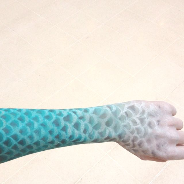 25 best ideas about fish scale tattoo on pinterest for Best fish scale