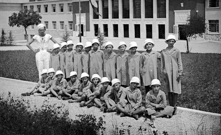 Banne, colonia femminile 1933
