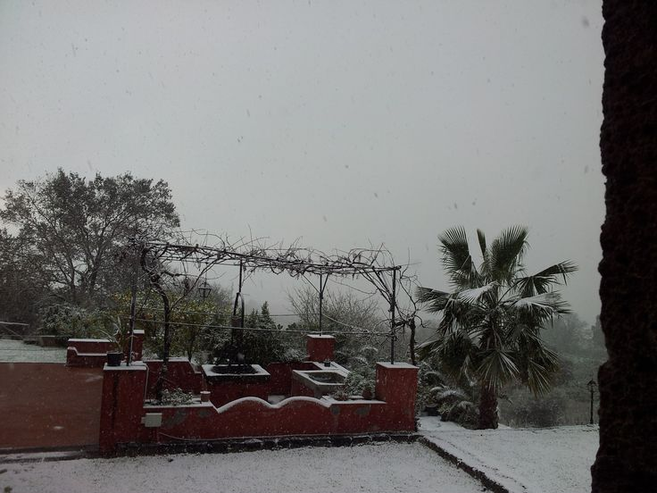 Neve in Sicilia...