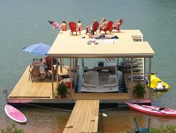 north carolina mountain lake dock traditional spaces other metro b allen corp - Dock Design Ideas