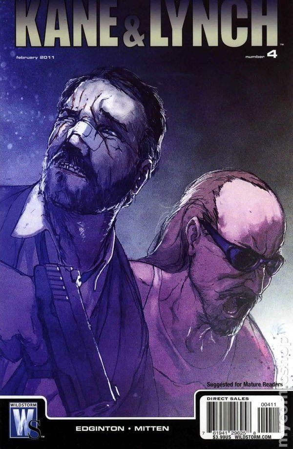 Kane and Lynch (2010 DC/Wildstorm) 4