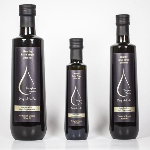 Drop of Life - Healthy Extra Virgin Olive Oil - The Greek Olive Estate