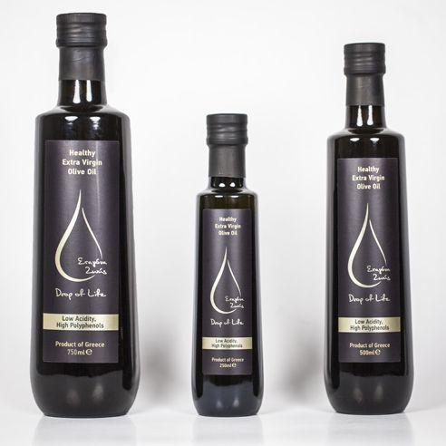 Drop of Life - Healthy Extra Virgin Olive Oil - The Greek Olive Estate