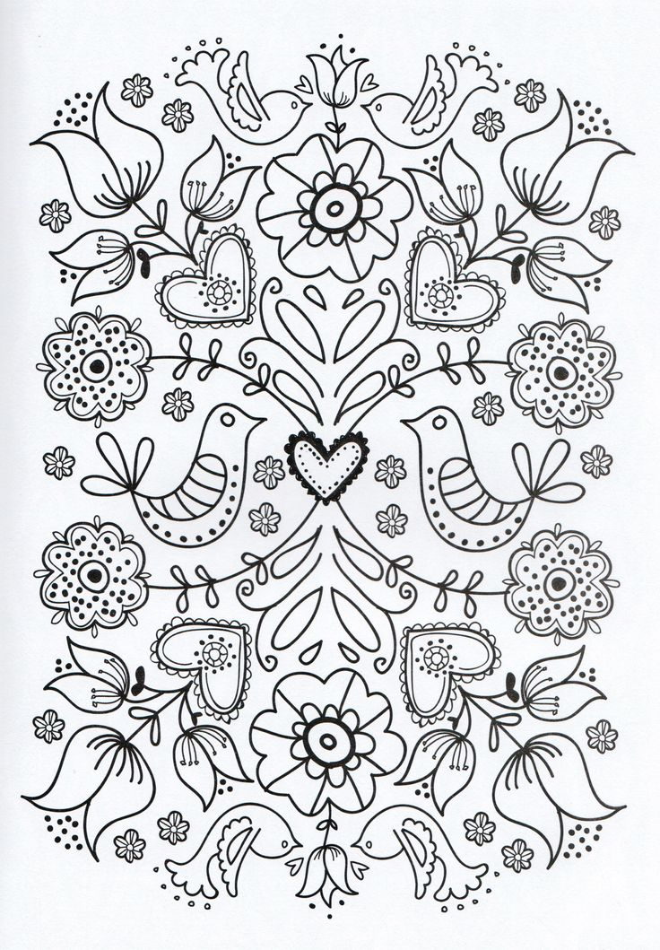 317 best Colouring adults images on Pinterest Coloring books