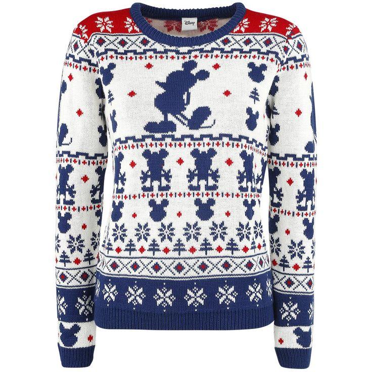 Mikki Hiiri - Christmas Sweater -neulesvetari  - neulesvetari - Walt Disney