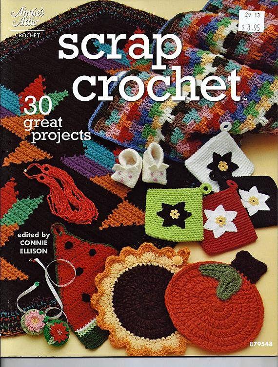 Mejores 126 imágenes de Crafty Crochet en Pinterest | Libros de ...