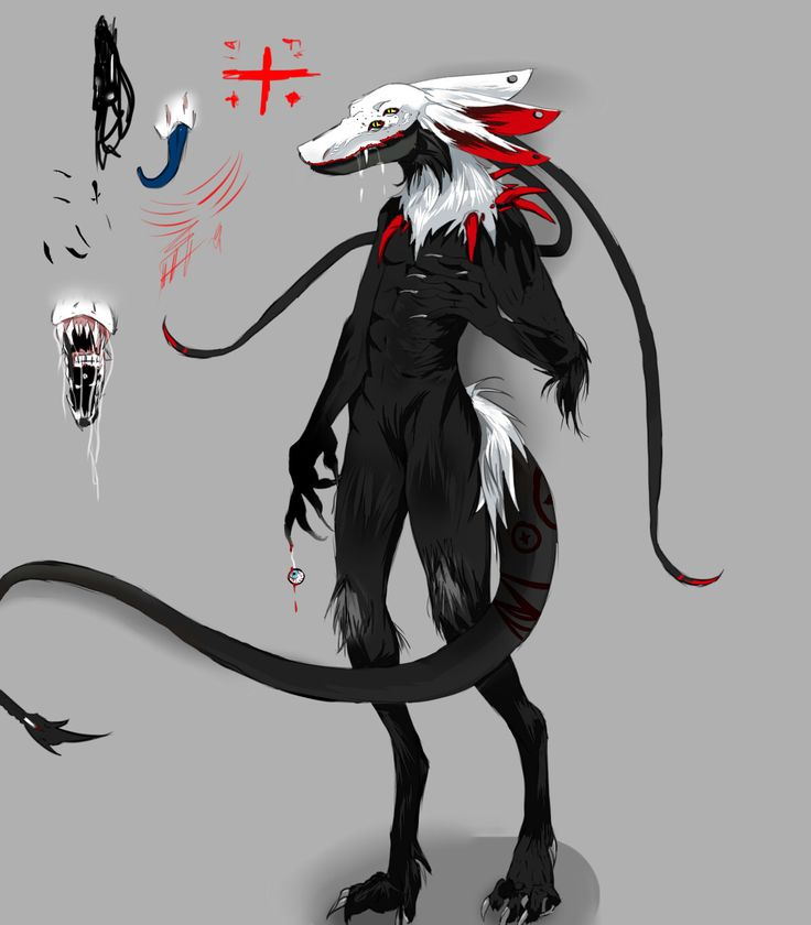 Takano [OC] Dämon Form ♥   By made Sassa ♥