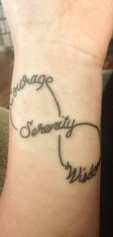 2014 Tattoos Ideas Tattoo Mi Serenity Courage Wisdom Tattoo Tattoos ...