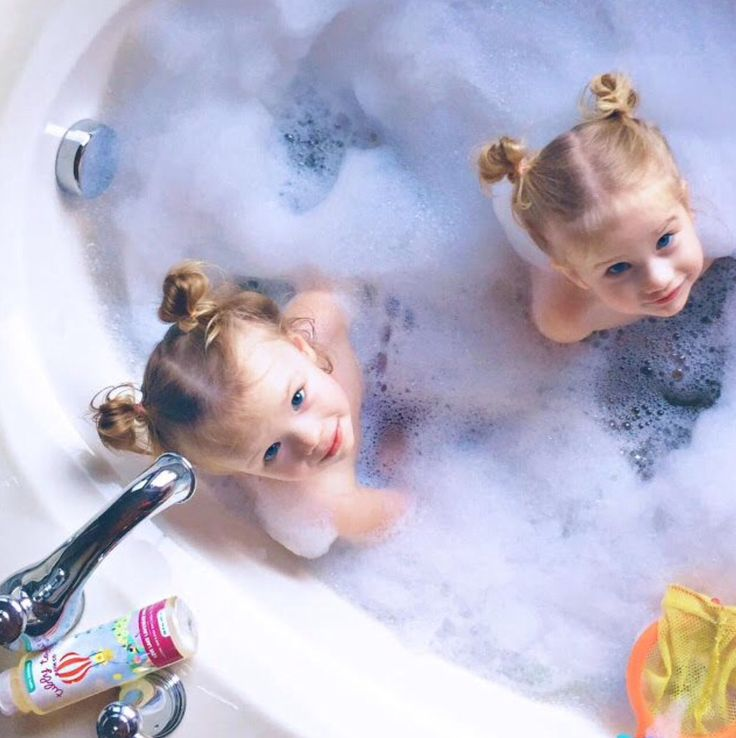 cuties in the tub