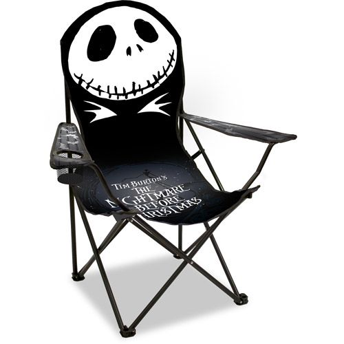 Disney Adult Nightmare Before Christmas Chair @amandavangelder  I thought you'd like this lol