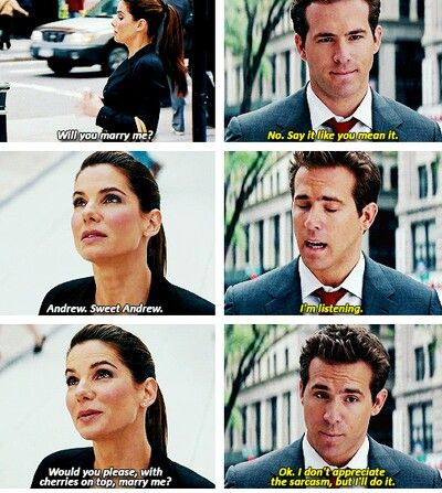 one of my favourite movies of all time -- the proposal ❤️