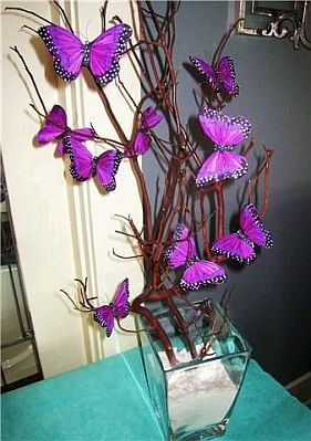 decoracion de mariposas para quinceanera - Google Search