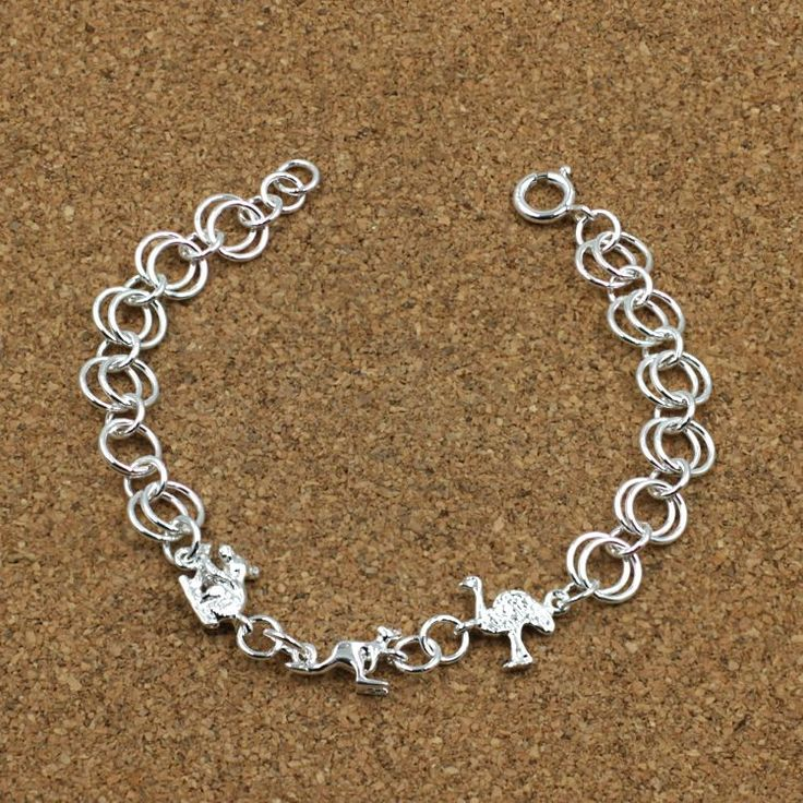 Buy our Australian made Sterling Silver Bracelet - Natasha online. Explore our range of custom made chain jewellery, rings, pendants, earrings and charms.