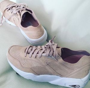 puma trinomic beige rose