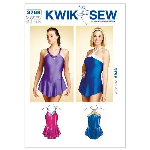 Kwik Sew K3769 Leotards Sewing Pattern, Size XS-S-M-L-XL ...
