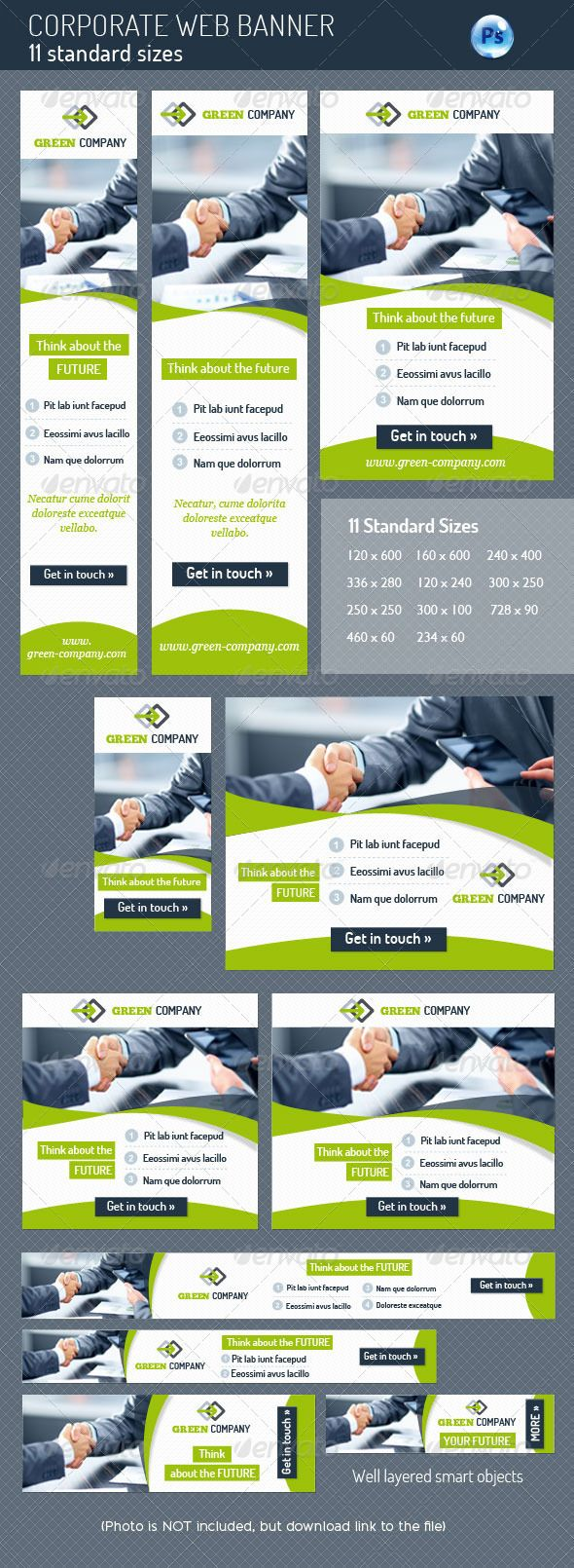 Corporate Web Banner Template PSD | Buy and Download: http://graphicriver.net/item/corporate-web-banner/5022117?WT.ac=category_thumb&WT.z_author=corrella&ref=ksioks
