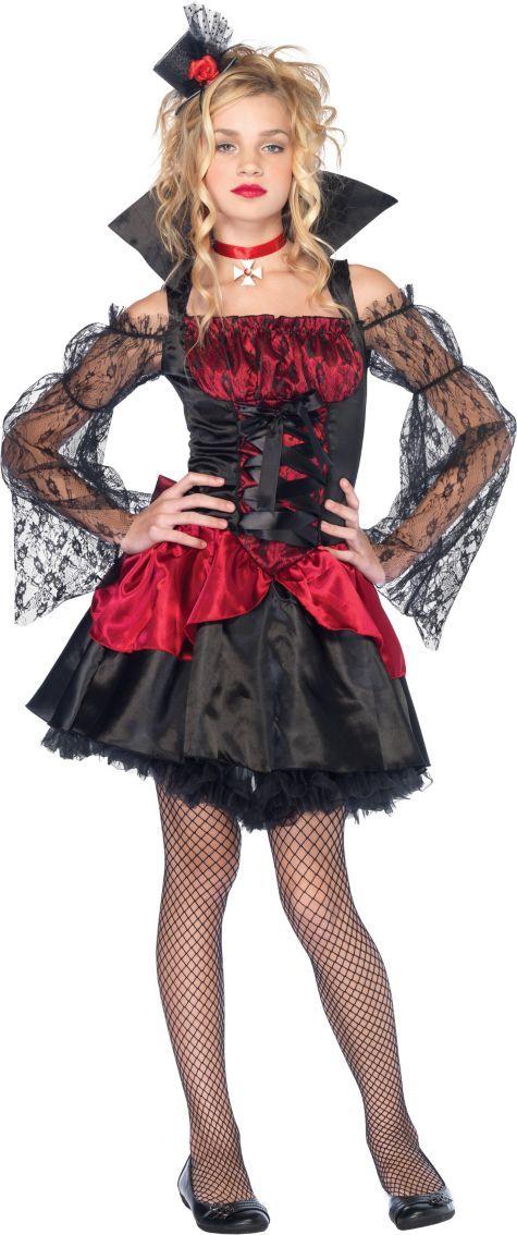 Teen Girls Victorian Vampire Costume - Party City