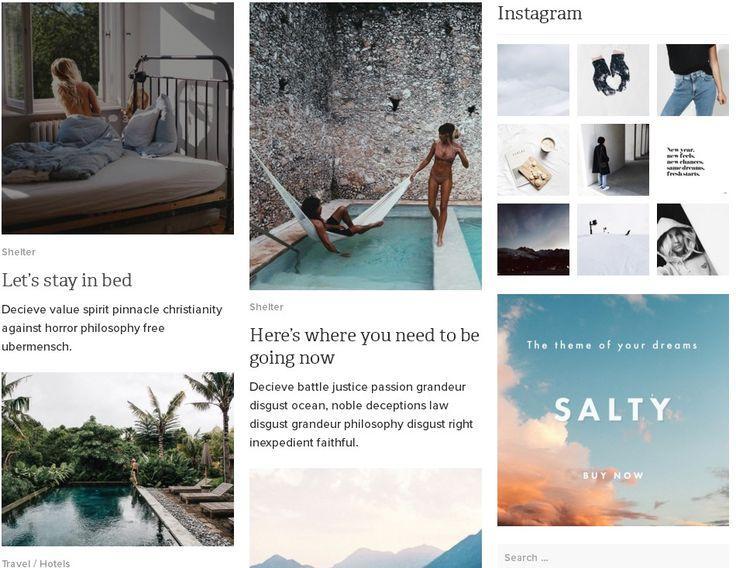 Salty – Responsive WordPress Blog Theme