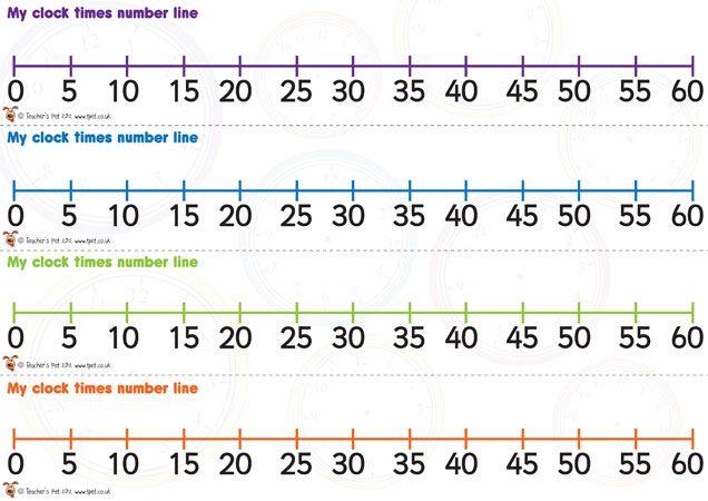Number Line Worksheets » Elapsed Time Number Line Worksheets ...