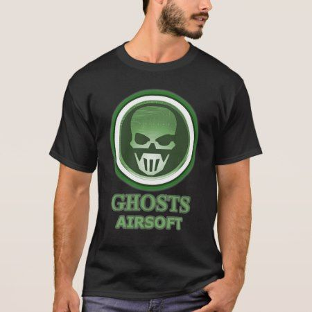 Ghosts Tshirt - Black - click to get yours right now!