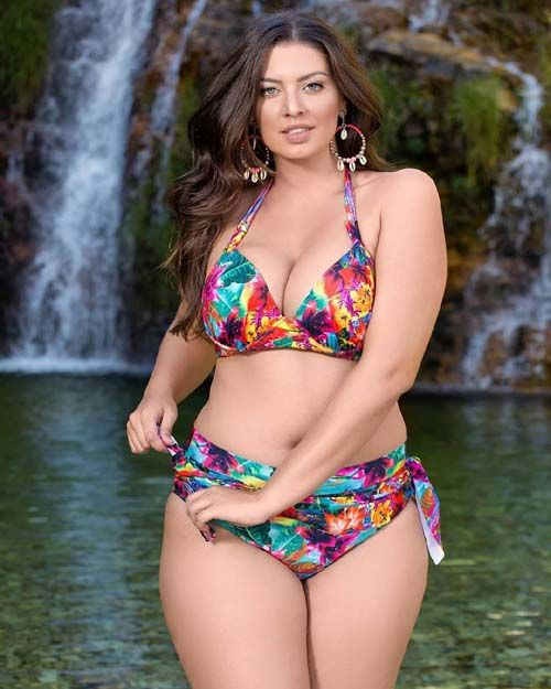 31f687591d Plus Size Swimwear Designer - The introduction of new style in plus size  swimwear for women a plenty of woman have a collection of stylish swimwear  in their ...