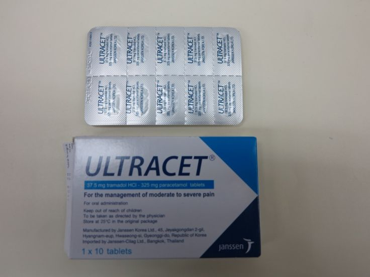 What is better tramadol or ultracet