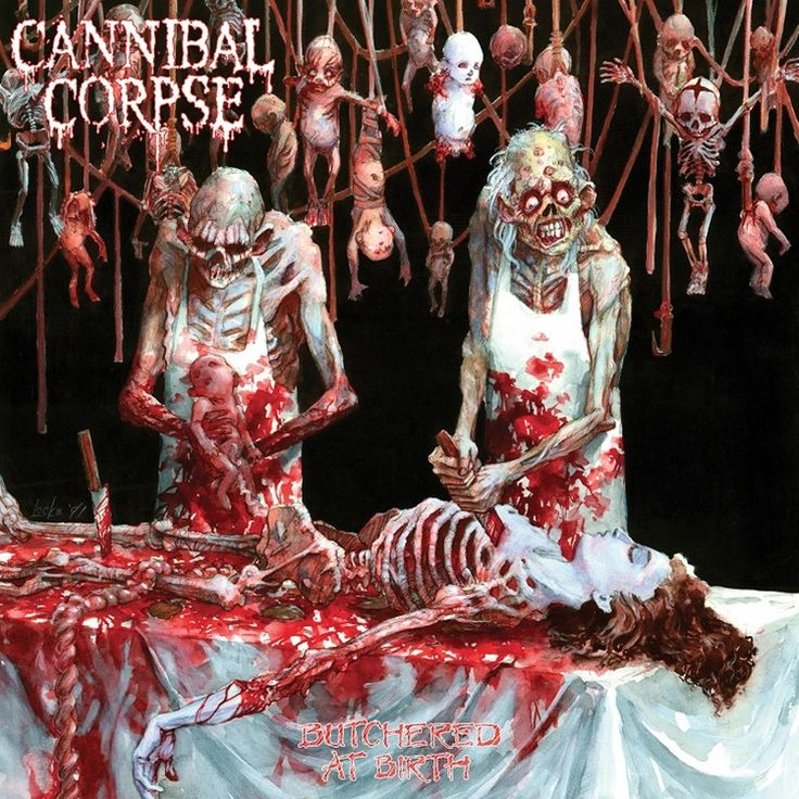 Cannibal Corpse - Butchered At Birth on Limited Edition LP March 25 2106