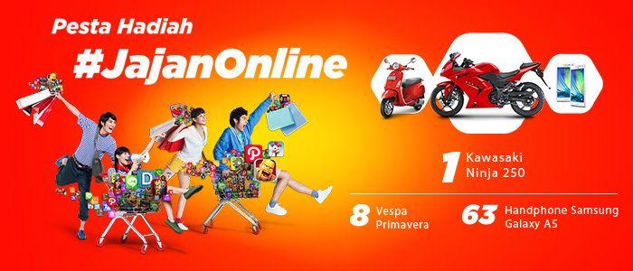 Pesta Hadiah #JajanOnline - Telkomsel