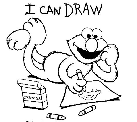 find this pin and more on sesame street coloring pages by dabak395bxj0533 elmo write