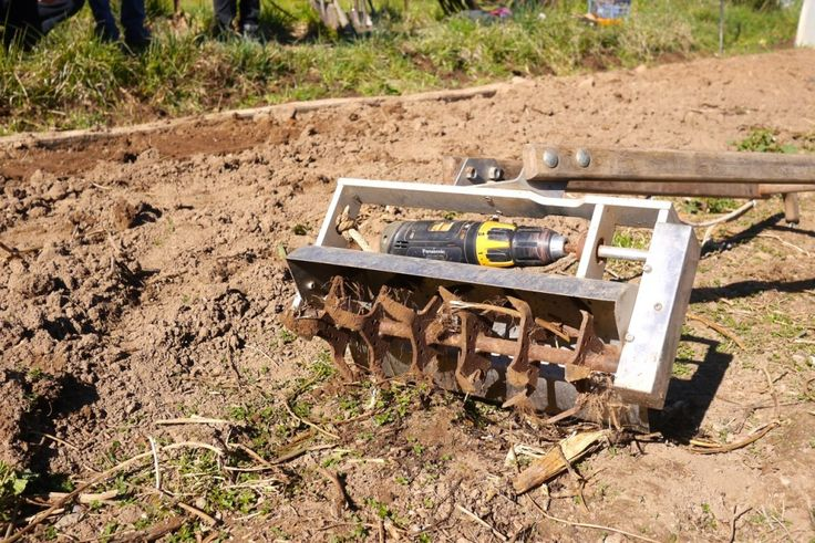 Drill-powered Microfarming: Slow Tools for Humanity
