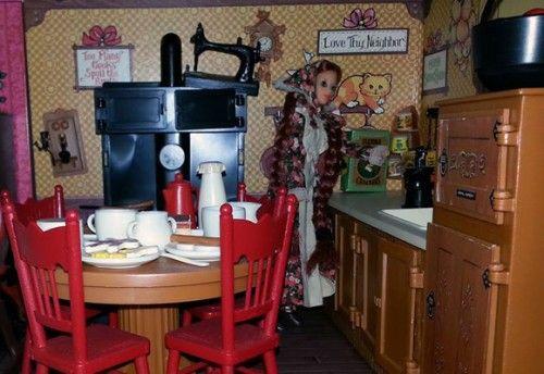 Jody Doll Country Kitchen