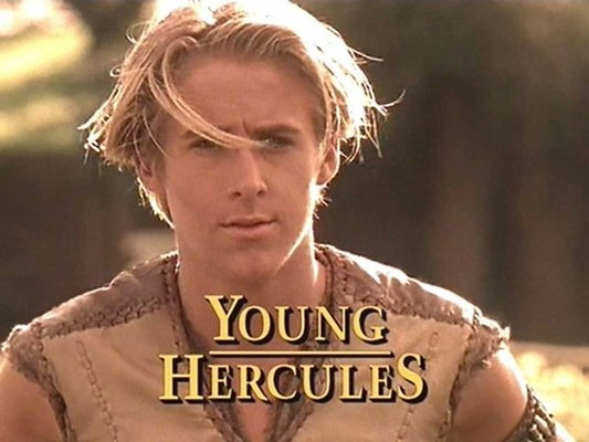 """Ryan Gosling - got his first real gig at the age of 12 alongside Britney Spears and Justin Timberlake on """"The Mickey Mouse Club."""" After the club disbanded he appeared on several TV shows including """"Young Hercules."""""""
