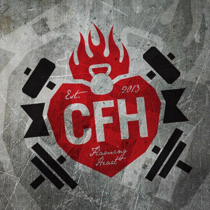 CrossFit Flaming Heart Logo