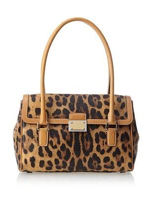 -64,800% OFF Dolce & Gabbana Women's Leopard Shoulder Bag, Tan