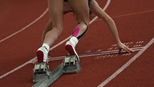 Kinesio: The neon tape taking the Olympics by storm: