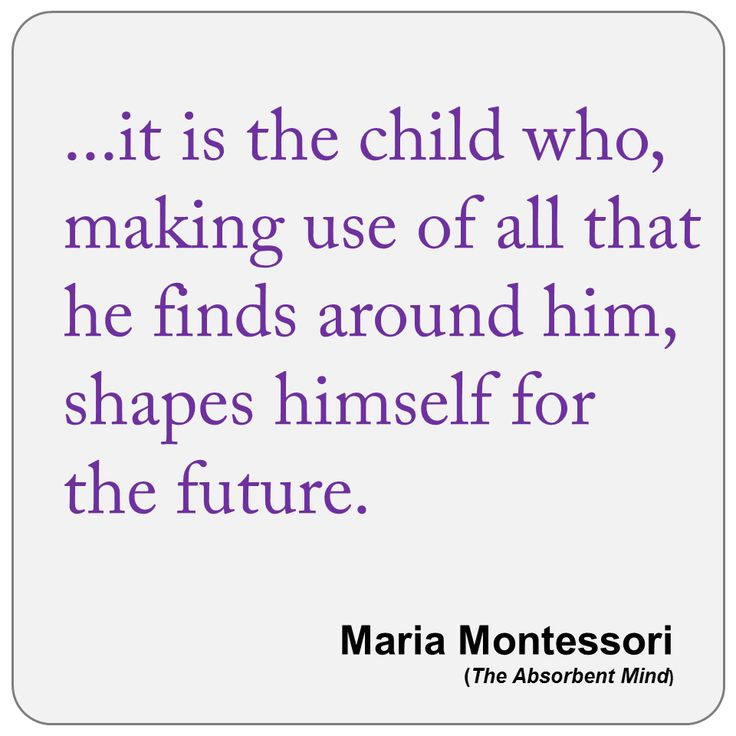 Maria Montessori Quotes Education Science Child Forest School Quote Posters Early Learning Great Art Rooms