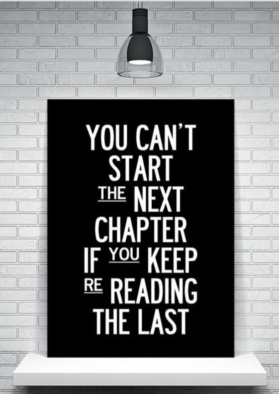 Turn the page! Quit worrying about what was and start focusing on what can be. #motivation #inspiration #leadership #quote