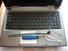Чистим сами ноутбук.