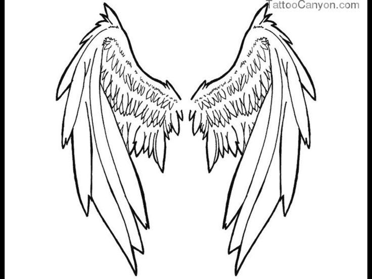 29 mejores imgenes de Wings Tattoo Drawings Evil en Pinterest