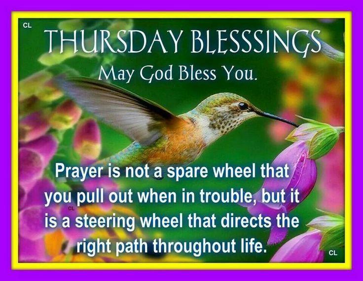 60 Best Thursday Blessings Images On Pinterest