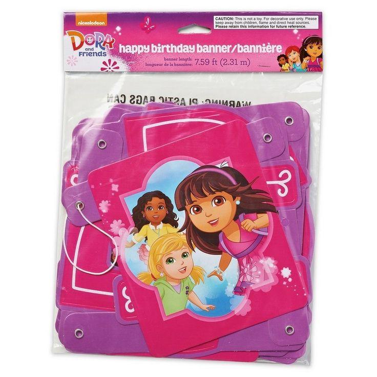 Dora the Explorer Party Banner,